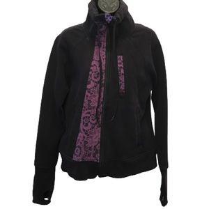 Lululemon Vintage Necessity Jacket Black & Purple
